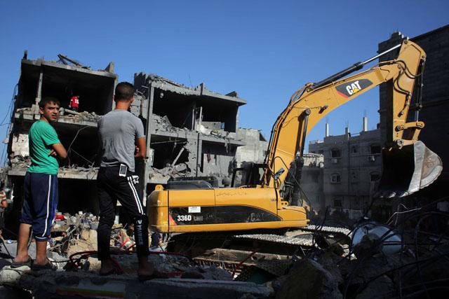 Gaza, israeli air strikes, hamas leaders killed