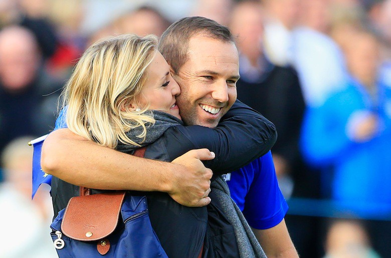 Katharina Boehm, 24, is more than just Sergio Garcia's girlfriend. The couple has been together since 2013 and Garcia, 35, has attributed some of his comeback on tour after a rough patch to his beautiful new girlfriend. She's a former star golfer at the College of Charleston who once caddied for Garcia in a tournament he won. Click through for some of the best photos of Boehm on the course with Garcia and from her college days. (Getty) Katharina Boehm: 5 Fast Facts You Need to Know