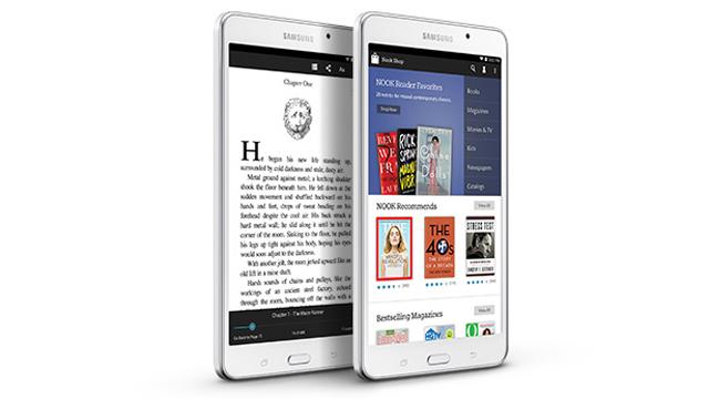Galaxy Tab 4 Nook, samsung Galaxy Tab 4 Nook, samsung, galaxy tab, nook, barnes and noble, new nook, nooks, ereader, tablet