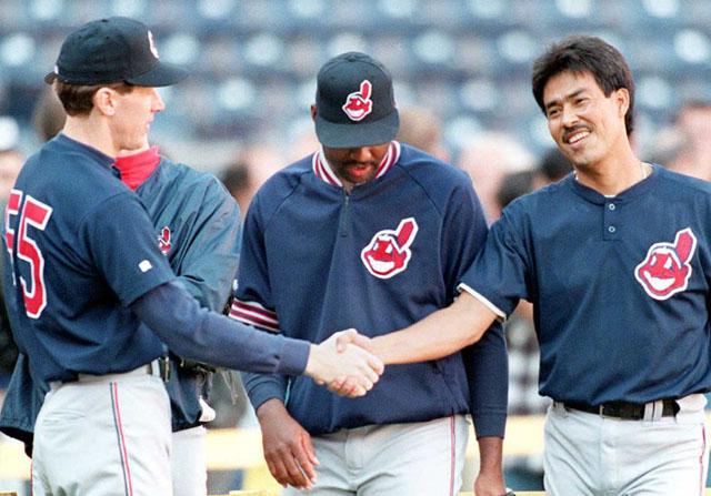 Orel Hershiser, Dennis Martinez, Ken Hill, 1995 World Series
