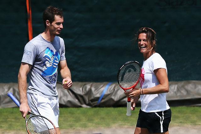 Andy Murray, Amelie Mauresmo