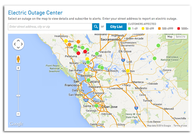 california earthquake today, earthquake power outages