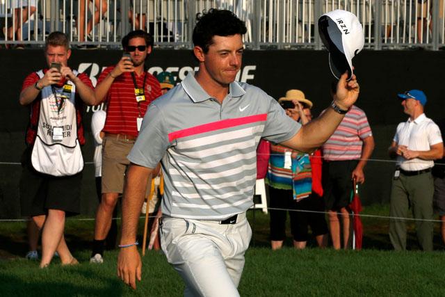 Rory McIlroy Bridgestone, Rory McIlroy PGA Championship