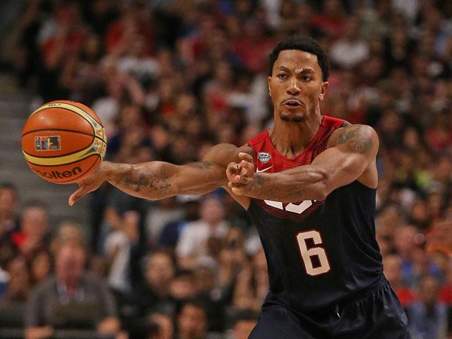 Derrick Rose, USA Basketball, FIBA World Cup