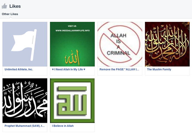 Ali Muhammad Brown Facebook