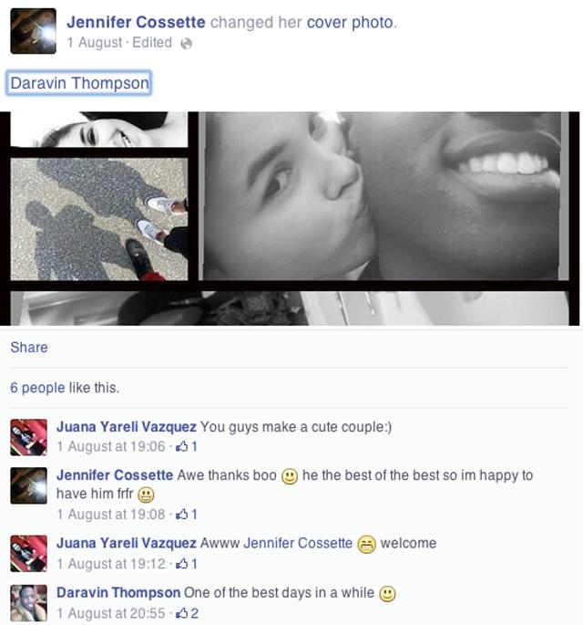 Jennifer Cossette Facebook