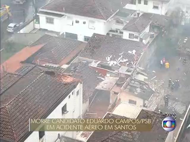 Eduardo Campos Plane Crash Site