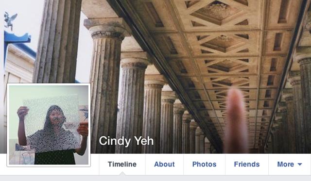 Cindy Yeh Facebook