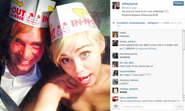 Jesse Helt Miley Cyrus Instagram