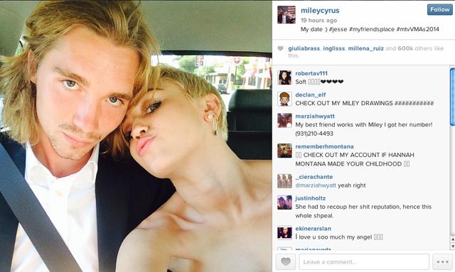 Miley Cyrus Dating Jesse Helt
