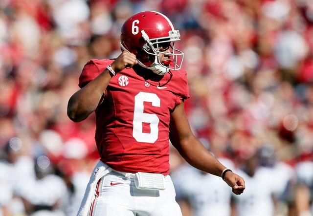 Blake Sims, Alabama football