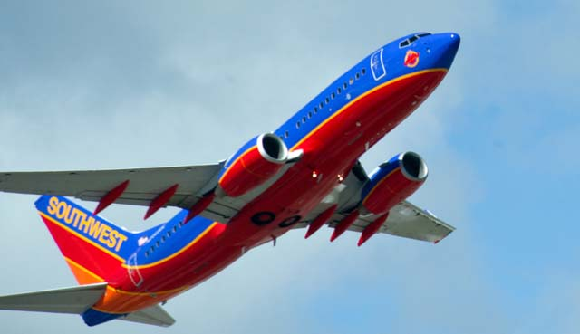 Southwest Airlines, Southwest Airlines sneak on