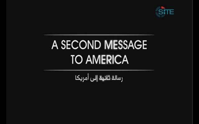 A Second Message to America Video