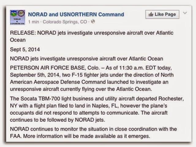 NORAD Facebook