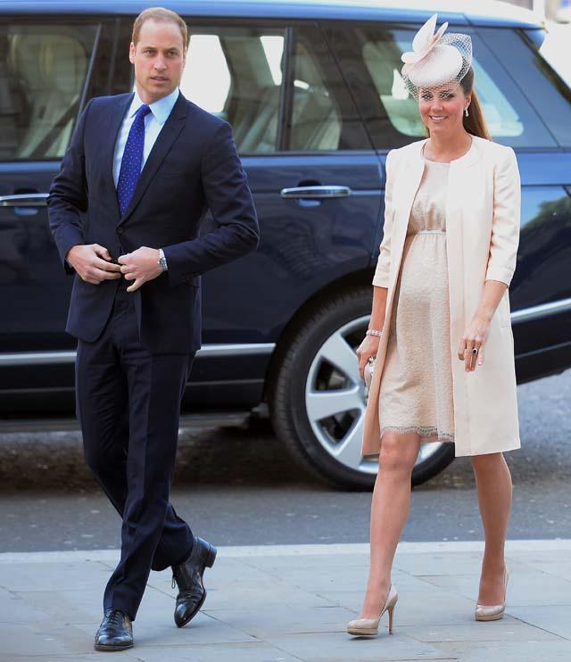 Kate Middleton First Pregnancy