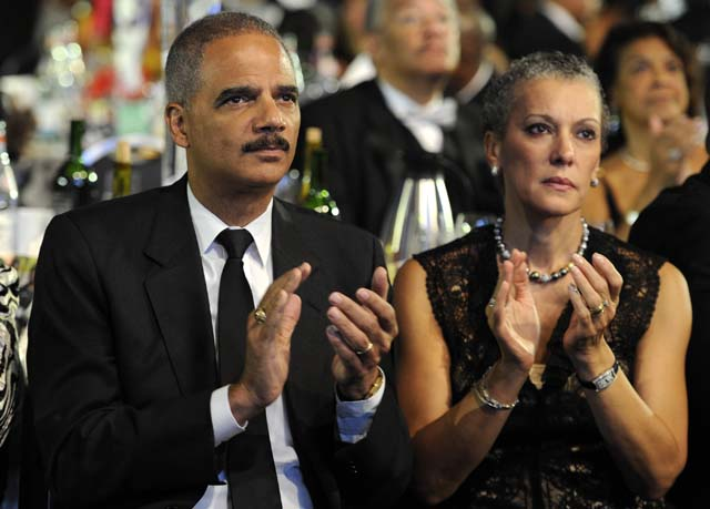 Eric Holder Sharon Malone Wife