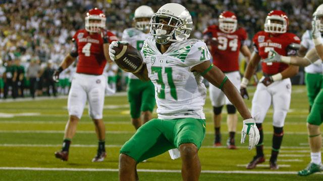 Oregon running back Kenny Bassett