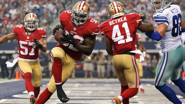 Patrick Willis, San Francisco 49ers, Dallas Cowboys
