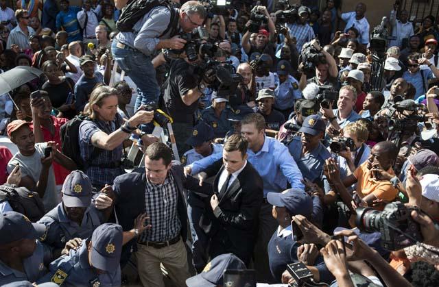 Pistorius South Africa Court