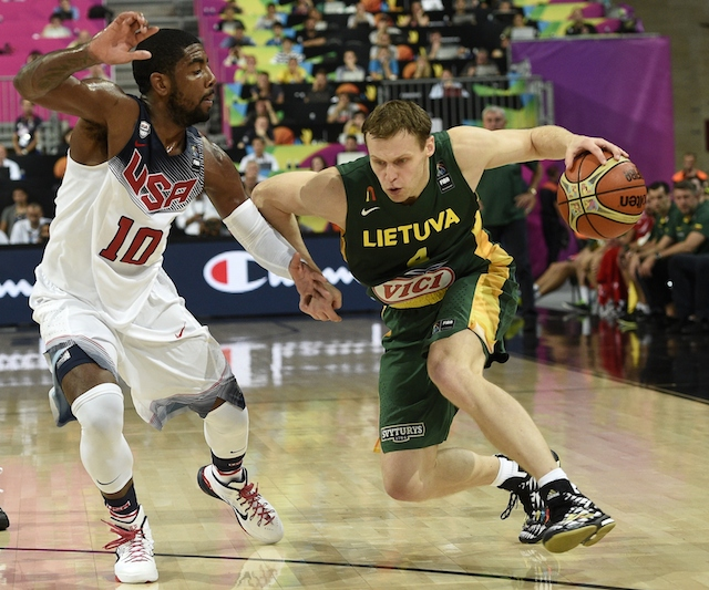 USA vs. Lithuania basketball