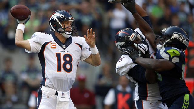 Peyton Manning, Denver Broncos, Seattle Seahawks