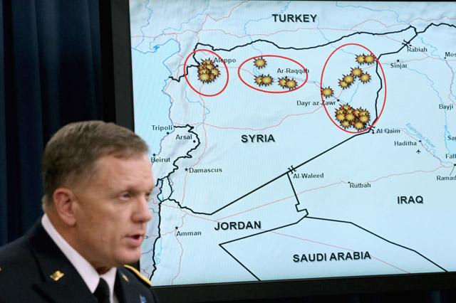 William Mayville Syria airstrikes