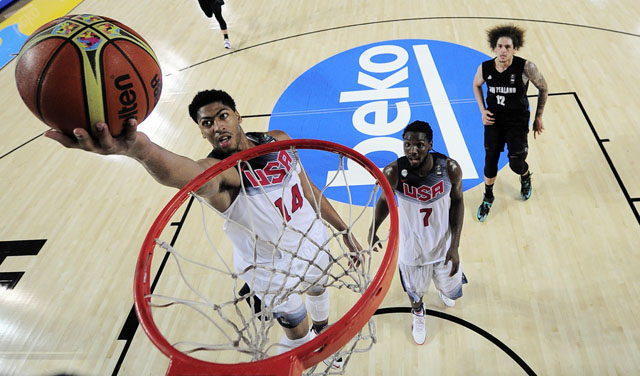 Anthony Davis, United States basketball, FIBA World Cup