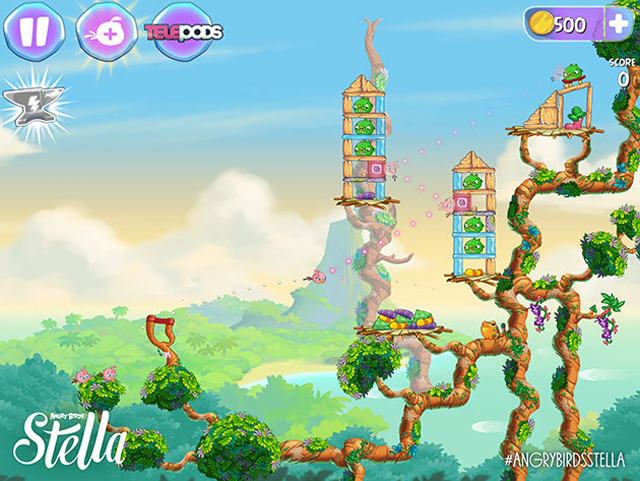 Angry Birds Stella Tips