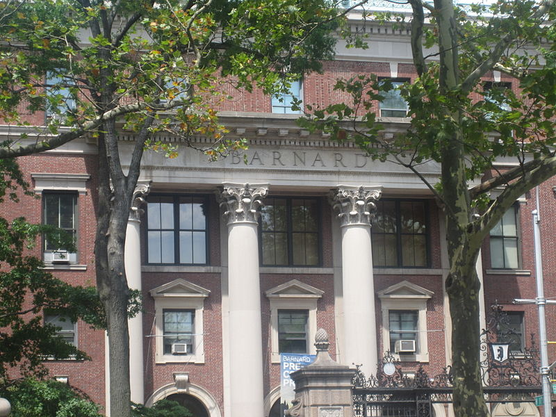 Barnard College, Anna Isaacson