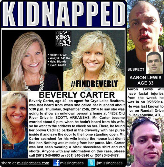 beverly carter kidnapping, aaron lewis