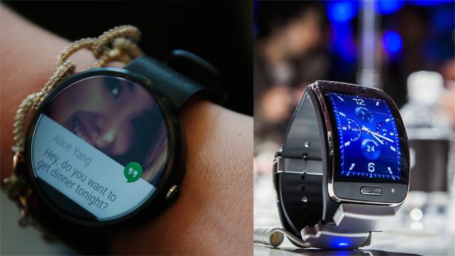 Samsung Gear S, samsung, motorola, android wear, smartwatch, Moto 360