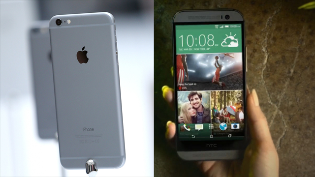 apple, htc, iphone 6, iphone, htc one, htc one m8, best smartphone, what smartphone should I buy, best new smartphone