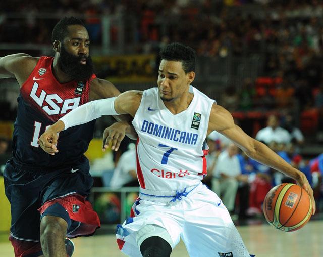 USA vs. Dominican Republic, James Harden, Victor Liz