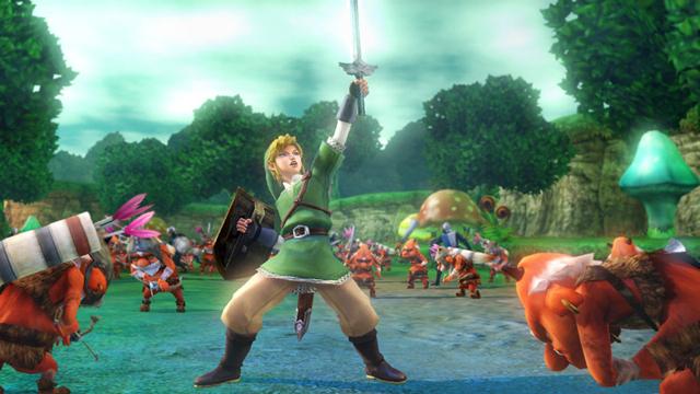 Hyrule Warriors Skyward Sword