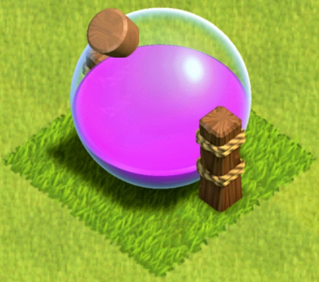 Clash of Clans Elixir Storage