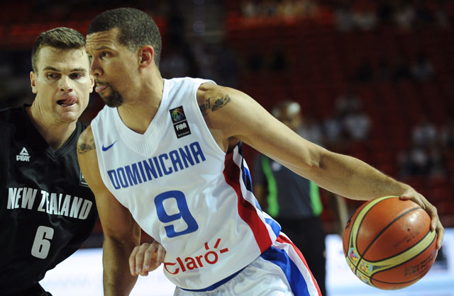 Francisco Garcia, FIBA World Cup, Dominican Republic basketball