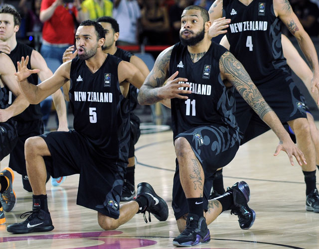 New Zealand vs. USA, New Zealand haka dance