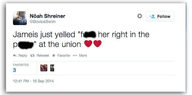 Jameis Winston tweet