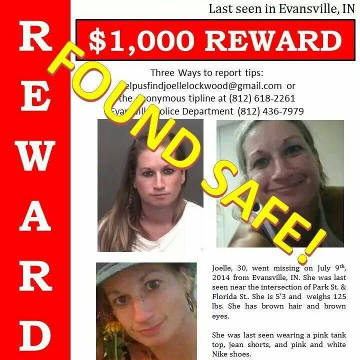 Help Find Joelle Lockwood Facebook Page