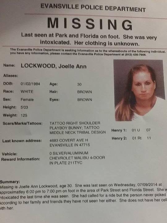 Joelle Lockwood Missing