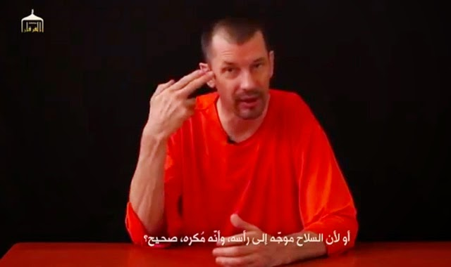 John Cantlie Execution