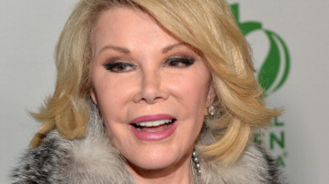Joan Rivers, Fashion Police Cancelled
