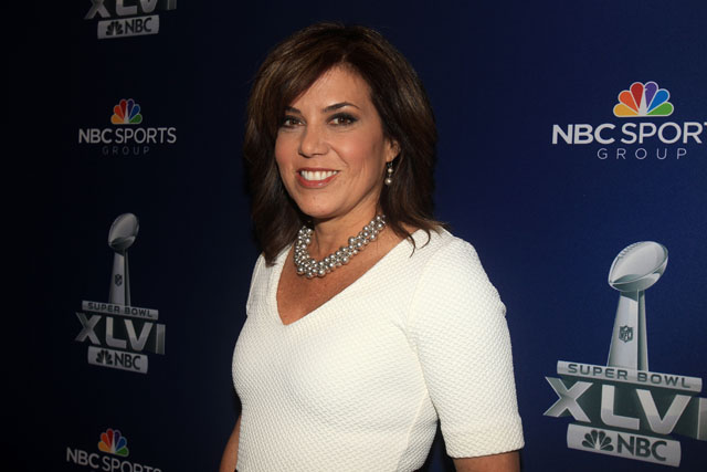 Michele Tafoya, Super Bowl XLVI