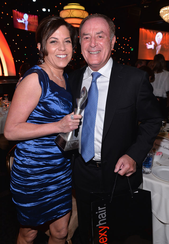 Michele Tafoya, Al Michaels, Gracie Awards