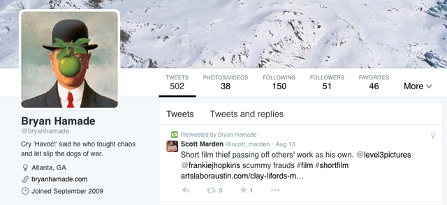 Bryan Halmade Twitter