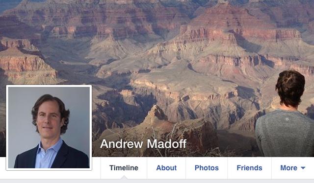 Andrew Madoff Facebook