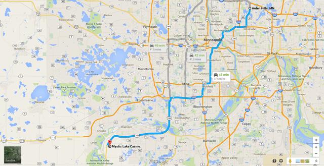 Google Maps Casino Ty Hoffman
