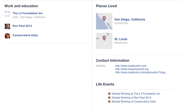 Lyda Loudon Facebook St. Louis