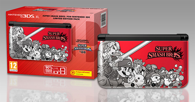 Super Smash Bros 3DS Special Edition