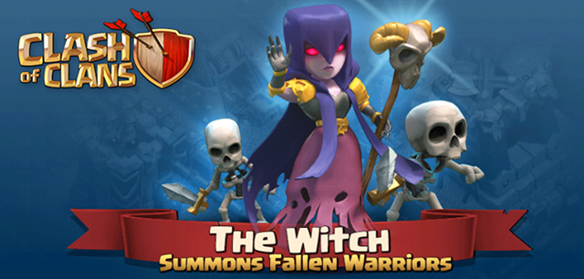 Clash of Clans Witch